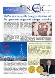 Anno 5, n. 11 - dicembre 2012 - Ospedale San Carlo Borromeo