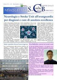 Anno 5, n. 10 - novembre 2012 - Ospedale San Carlo Borromeo