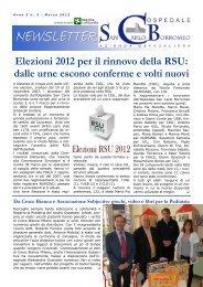 Anno 5, n. 3 - marzo 2012 - Ospedale San Carlo Borromeo