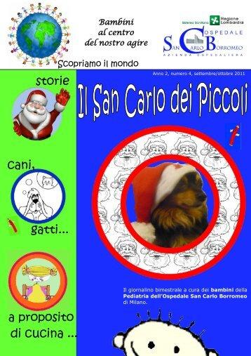 ANNO 2 n. 5 novembre dicembre 2011 - Ospedale San Carlo ...