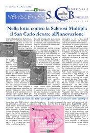 Anno 4, n. 3 - marzo 2011 - Ospedale San Carlo Borromeo