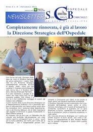 Anno 5, n. 8 - settembre 2012 - Ospedale San Carlo Borromeo