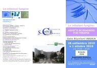 28 settembre 2010 e 1 ottobre 2010 - Ospedale San Carlo Borromeo