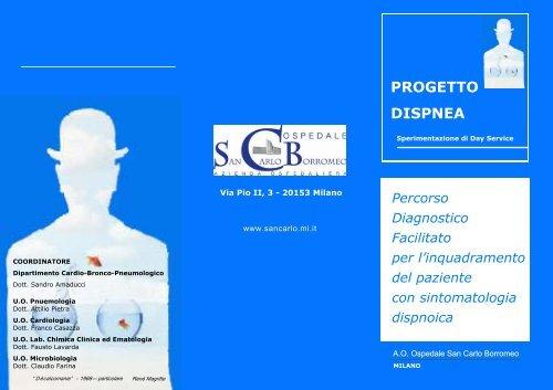 PROGETTO DISPNEA - Ospedale San Carlo Borromeo