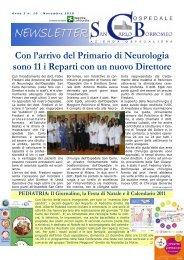 Anno 3, n. 10 - novembre 2010 - Ospedale San Carlo Borromeo