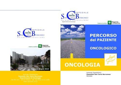ONCOLOGIA - Ospedale San Carlo Borromeo
