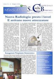 Anno 3, n. 5 - maggio 2010 - Ospedale San Carlo Borromeo