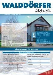 Ausgabe Februar 2013 - Gemeinde Sandberg