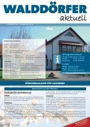 Ausgabe März 2013 - Gemeinde Sandberg