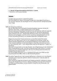 Protokoll 11. AK-Sitzung vom 06.05.10 - Gemeinde Sandberg