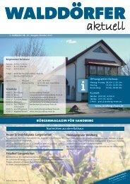 Ausgabe Oktober 2013 - Gemeinde Sandberg