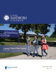 Campus Master Plan Update - Carl Sandburg College