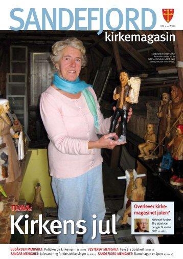 kirkemagasin - Sandefjord kirkelige fellesråd