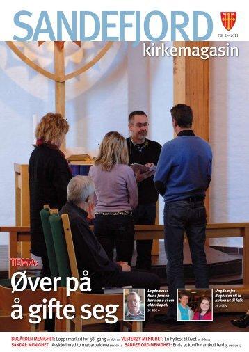 Sandefjord Kirkemagasin - 2011-2 - Øver på å gifte seg
