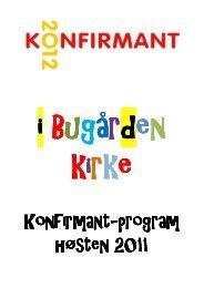 Høstens program - Sandefjord kirkelige fellesråd