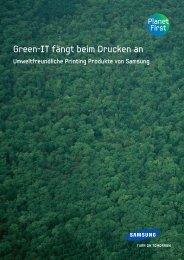Samsung GreenIT - Sander Büro Systeme