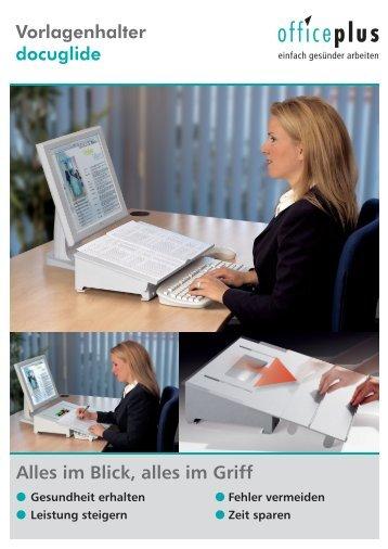 Datenblatt herunterladen - Sander Büro Systeme