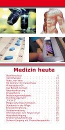 Medizin heute - Nordwest Krankenhaus Sanderbusch