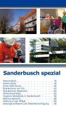 Sanderbusch spezial - Nordwest Krankenhaus Sanderbusch