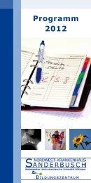 Programm 2012 - Nordwest Krankenhaus Sanderbusch