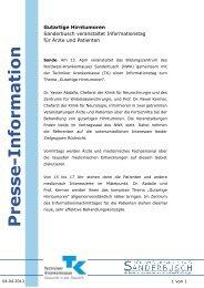 Presse-Information - Nordwest Krankenhaus Sanderbusch