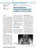 Rheumatologische Symptome bei gastroenterologischen ... - Seite 2