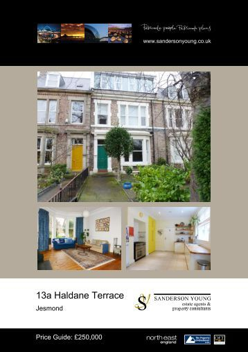 13a Haldane Terrace - Sanderson Young