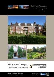 Flat 4, Dene Grange - Sanderson Young
