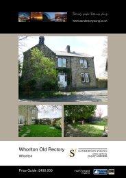 Whorlton Old Rectory - Sanderson Young