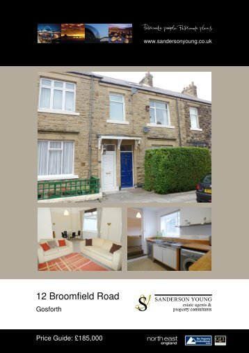 12 Broomfield Road - Sanderson Young