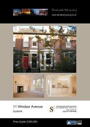 11 Windsor Avenue - Sanderson Young