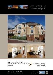 41 Grove Park Crescent - Sanderson Young