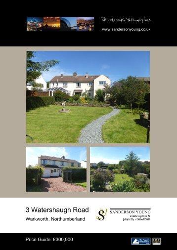 3 Watershaugh Road - Sanderson Young
