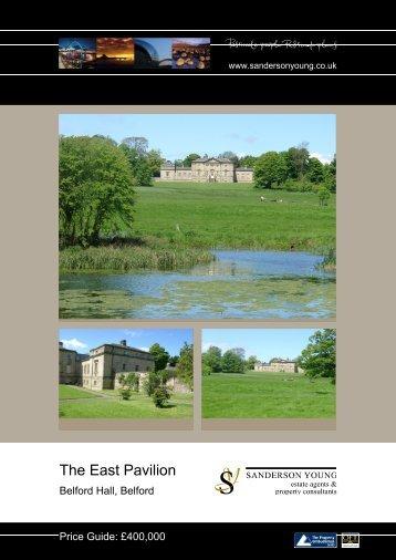 The East Pavilion - Sanderson Young
