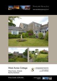 West Acres Cottage - Sanderson Young