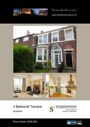 3 Balmoral Terrace - Sanderson Young