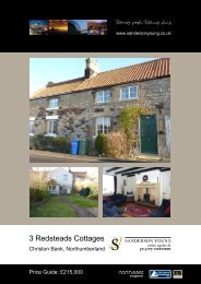 3 Redsteads Cottages - Sanderson Young