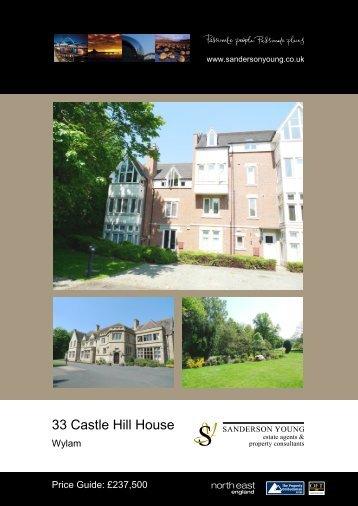 33 Castle Hill House - Sanderson Young