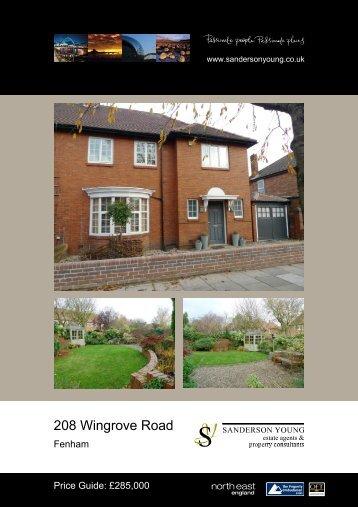 208 Wingrove Road - Sanderson Young