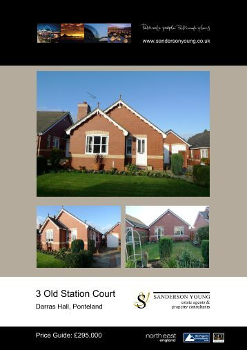 3 Old Station Court - Sanderson Young