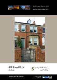 3 Rothwell Road - Sanderson Young