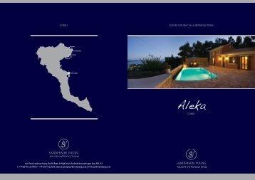 Villa Aleka enjoys an enviable hillside position ... - Sanderson Young