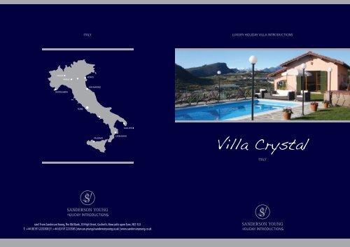 Villa Crystal - Sanderson Young