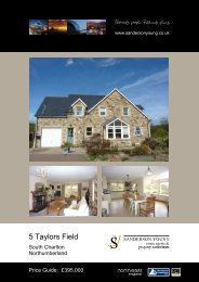 5 Taylors Field - Sanderson Young
