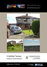 4 Ashfield Terrace - Sanderson Young
