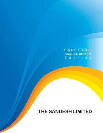THE SANDESH LIMITED