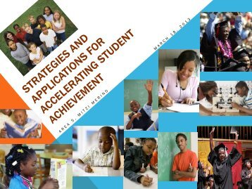 Strategies and Applications for Accelerating Student Achievement