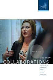 COLLABORATIONS - University of San Diego