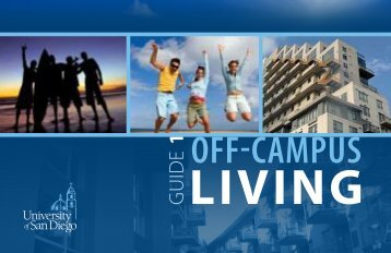 Off-Campus Living - University of San Diego