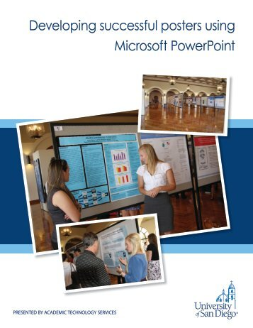 Developing successful posters using Microsoft PowerPoint